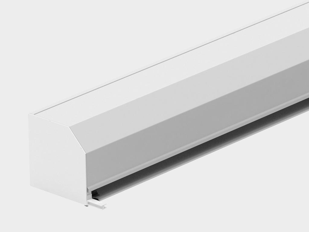 <p>Короб в сборе. Представляет собой собранный защитный короб с боковыми крышками, валом и капсулами, механизмом управления — ручным или автоматическим.</p>