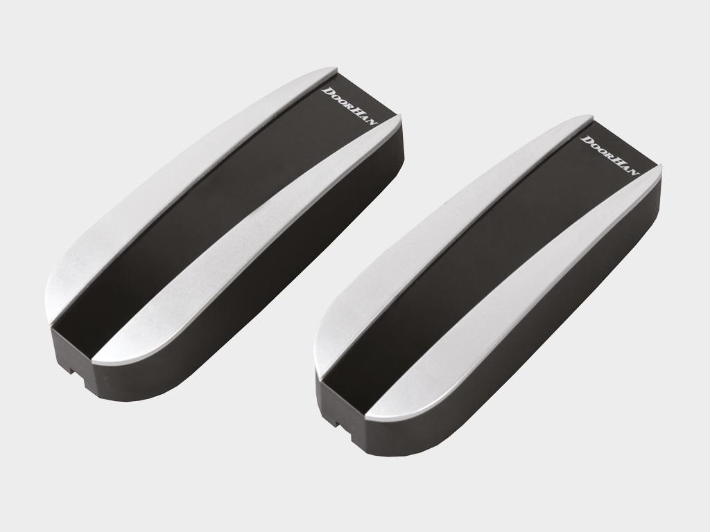 <p>Фотоэлементы безопасности Photocell-N, состоящие из инфракрасного передатчика и приемника</p>