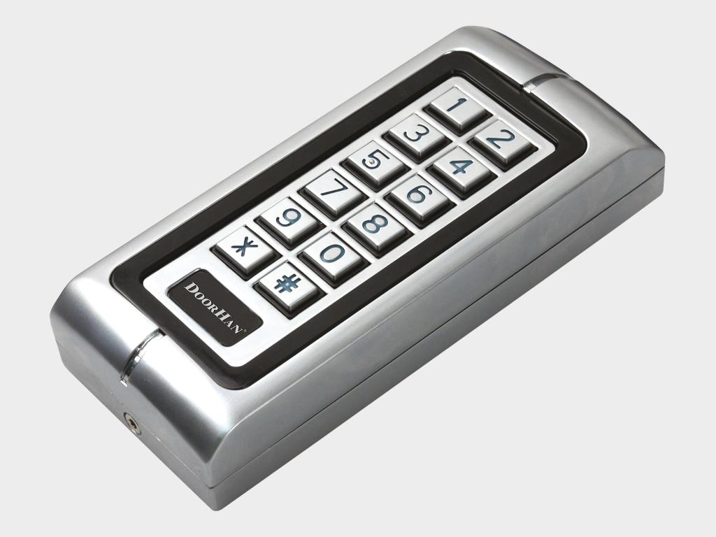 <p>Антивандальная кодовая клавиатура KEYCODE для управления автоматическим устройством. Может быть использована как внешняя клавишная панель или устройство считывания прокси-карт</p>