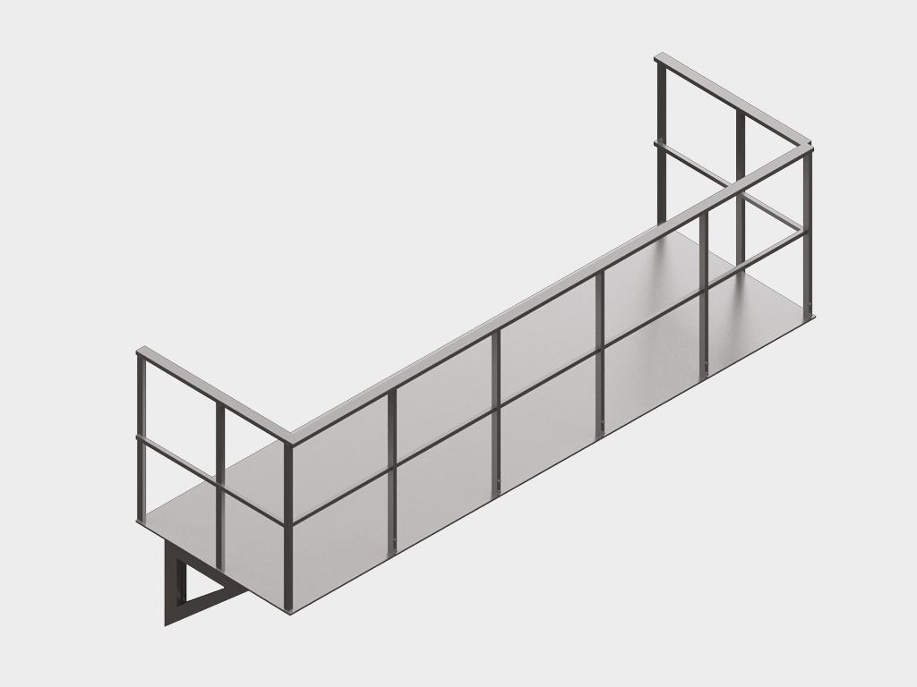 <p>Дополнительные металлоконструкции</p>