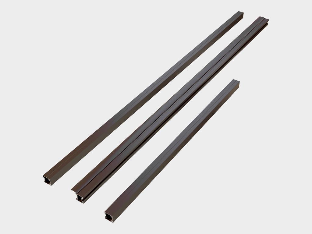 <p>Комплект навесных столбов для крепления створки к проему.</p>