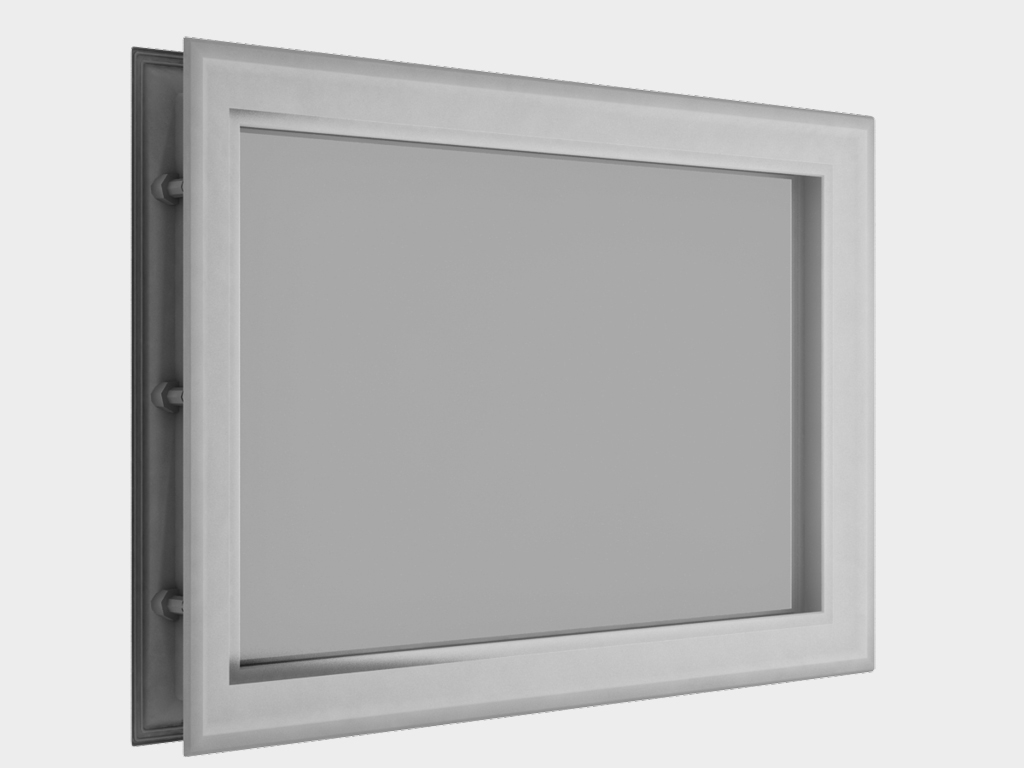 <p>Окно акриловое 452 × 302, белое (арт. DH85626). Специальная конструкция обеспечивает плотное прилегание к полотну ворот, что защищает его от промерзания и теплопотери. Окантовка белого цвета.</p>