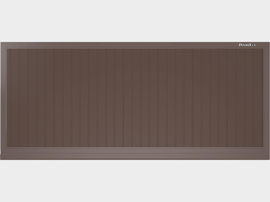 <p>Полотно из сэндвич-панелей толщиной 40 мм</p>
