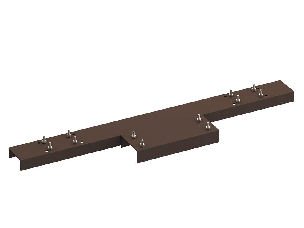 <p>Рама стандартная (основание) под сварку к опалубке для установки сдвижных ворот рядом с уже имеющимся прочным сооружением, позволяющим закрепить верхние поддерживающие ролики и ловители, а также имеющимся фундаментом для установки конструкции ворот.</p>